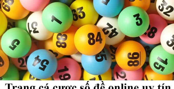 Trang cá cược số đề online uy tín