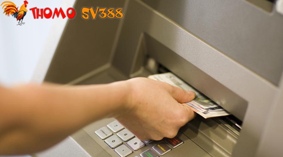 Cách rút tiền ThomoSV388 về tài khoản ngân hàng cá nhân