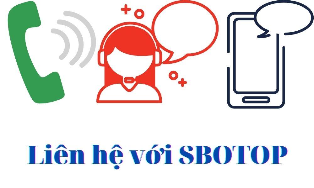 Một số hình thức liên hệ với SBOTOP